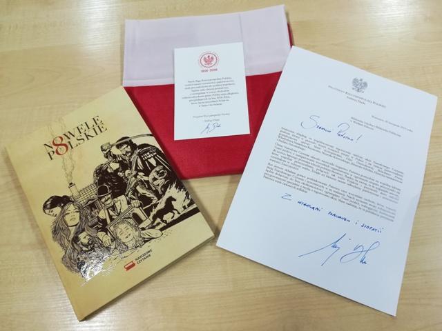 Gminne biblioteki otrzymały podziękowania od Pary Prezydenckiej
