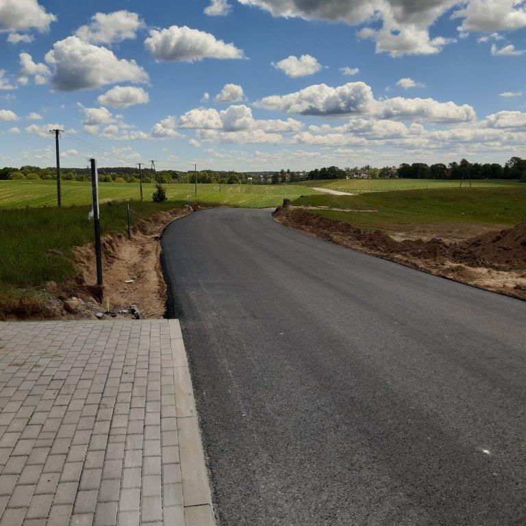 Rozbudowa drogi Kościerska Huta – Nowy Klincz