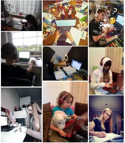 Komputery z Fundacji dla uczniów szkoły w Wielkim Podlesiu