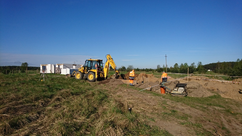 Budowa kanalizacji sanitarnej i wodociągowej w Małym Klinczu