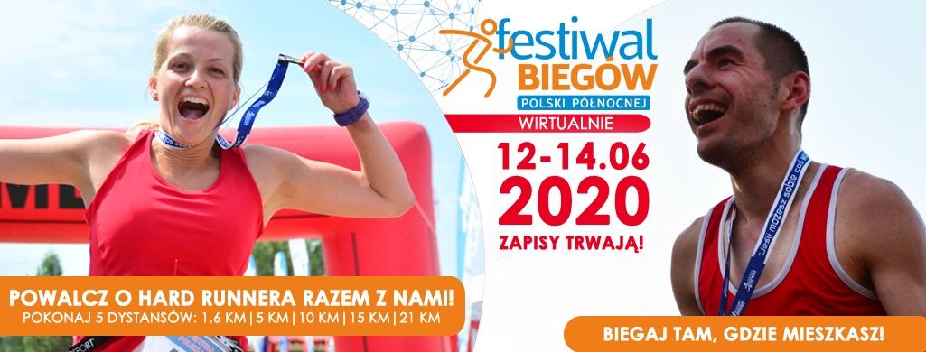 Zapraszamy na Festiwal Biegów we Wdzydzach – wirtualnie!