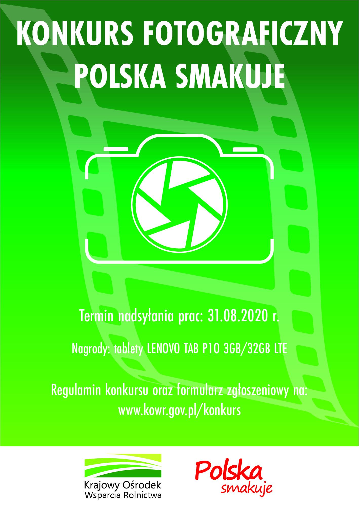 "Konkurs fotograficzny ,,Polska Smakuje"""