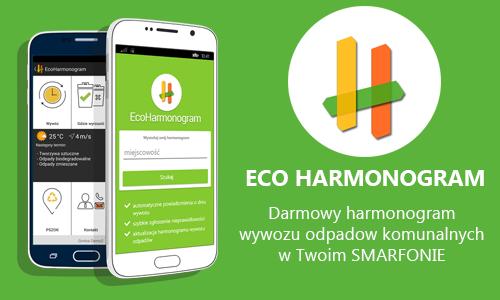 EcoHarmonogram dostępny dla mieszkańców