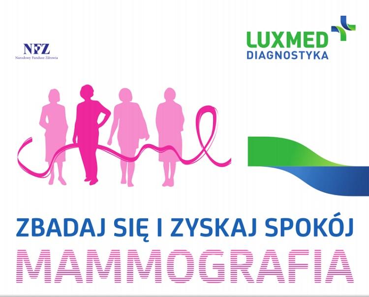 Zapraszamy na mammografię