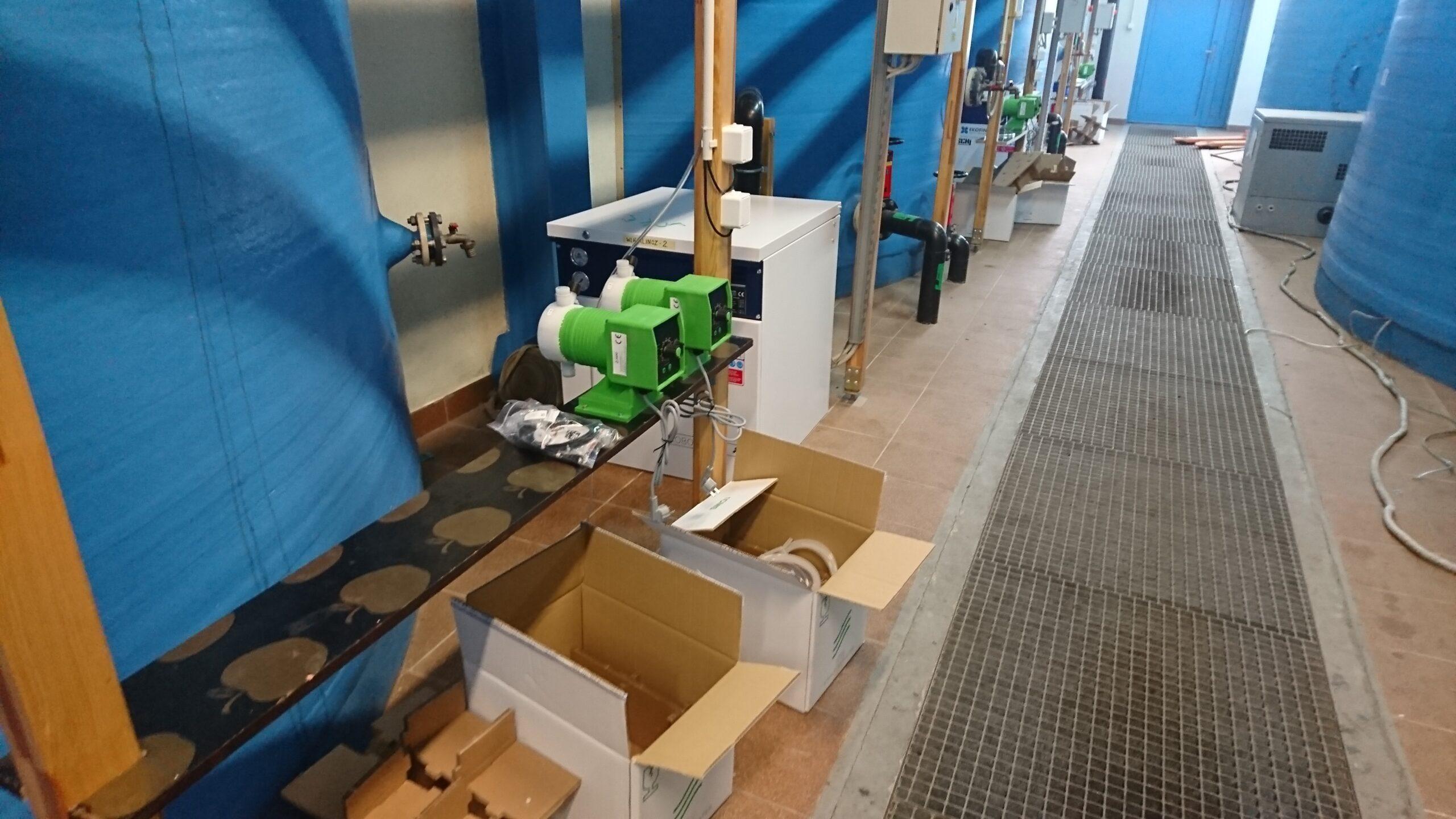 Modernizacja i rozbudowa oczyszczalni ścieków w Wielkim Klinczu