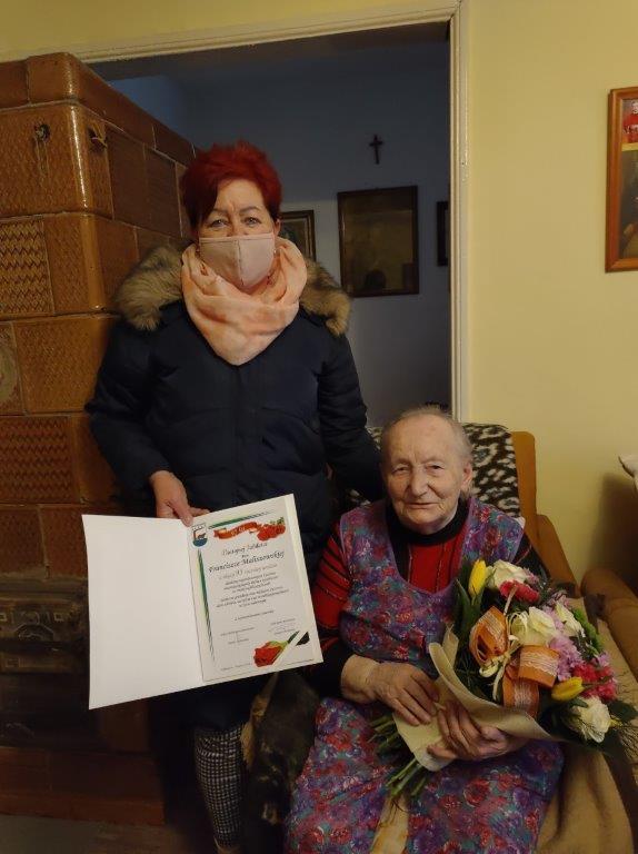 Urodziny pani Franciszki Maliszewskiej