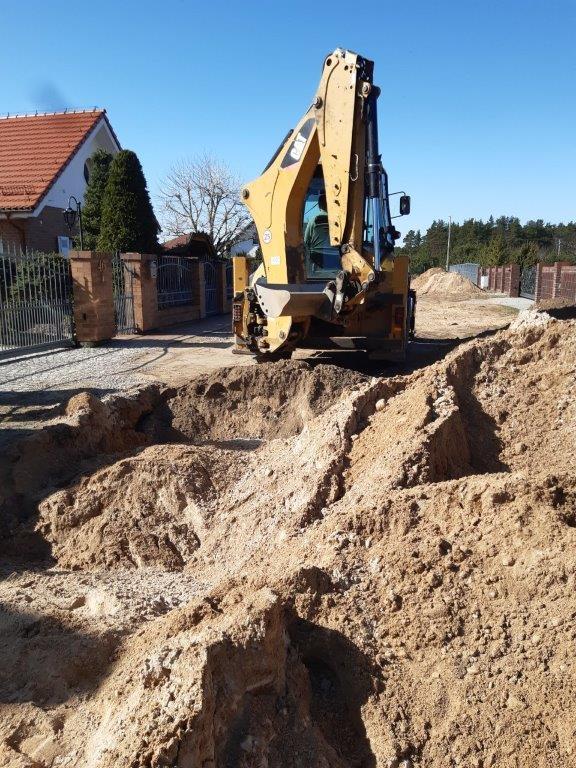 Trwa budowa kanalizacji w Grzybowie i Sycowej Hucie
