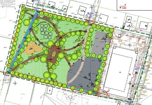 Budowa Aktywnego Parku w Wielkim Klinczu – etap I