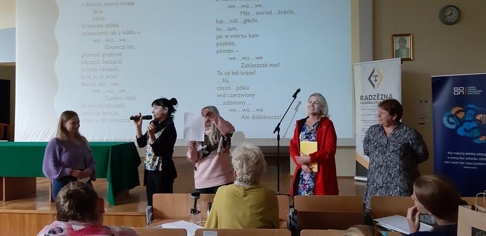 O nauce kaszubskiego w Łubianie na Uniwersytecie Gdańskim