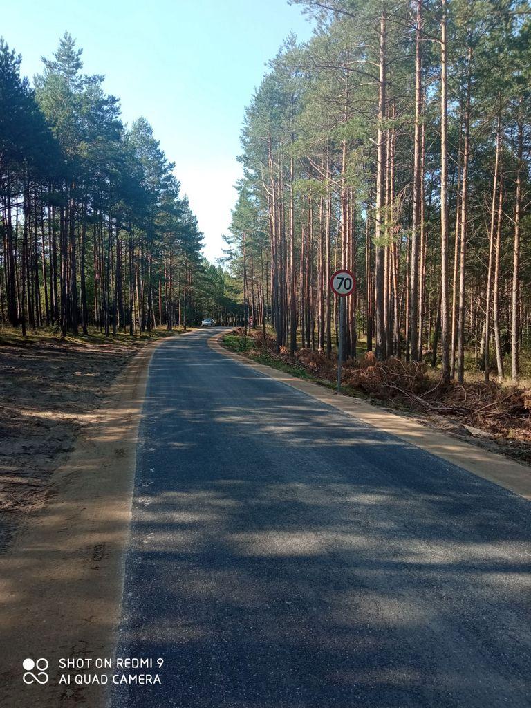 Remonty dróg w Gminie Kościerzyna