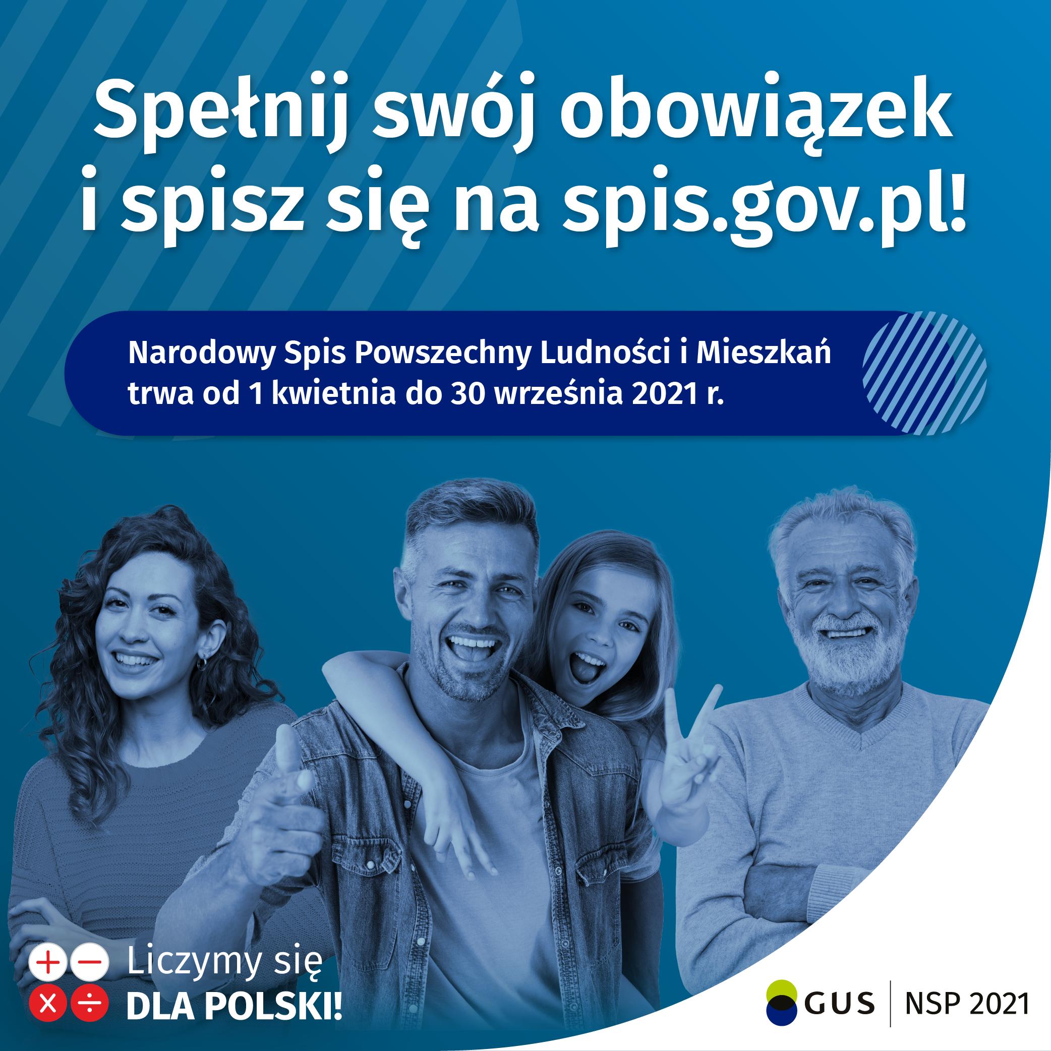 Zapraszamy do udziału w Narodowym Spisie Powszechnym – został ostatni tydzień!